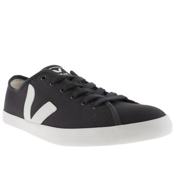 mens veja navy taua trainers