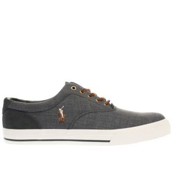 Polo Ralph Lauren Black Vaughn Mens Shoes