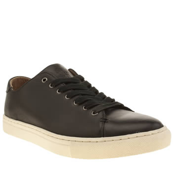 Mens Polo Ralph Lauren Black Jermain Trainers