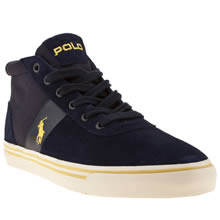 Navy & White Polo Ralph Lauren Hanford Mid Sd