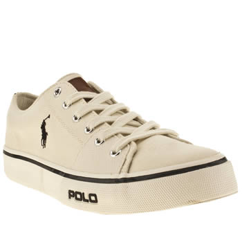 Mens Polo Ralph Lauren Stone Cantor Low Shoes