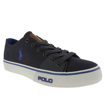 mens polo ralph lauren navy cantor shoes