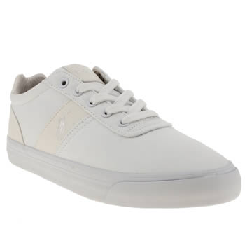mens polo ralph lauren white polo hanford shoes