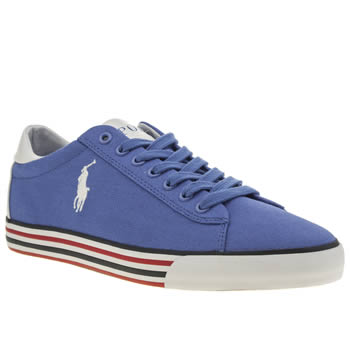 Mens Polo Ralph Lauren Blue Harvey Ne Shoes