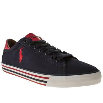 mens polo ralph lauren navy harvey shoes