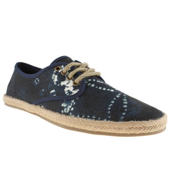 Mens Polo Ralph Lauren Navy & Stone Shortlands Shoes