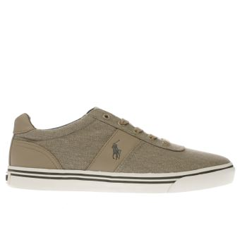 Polo Ralph Lauren Khaki Hanford Mens Trainers