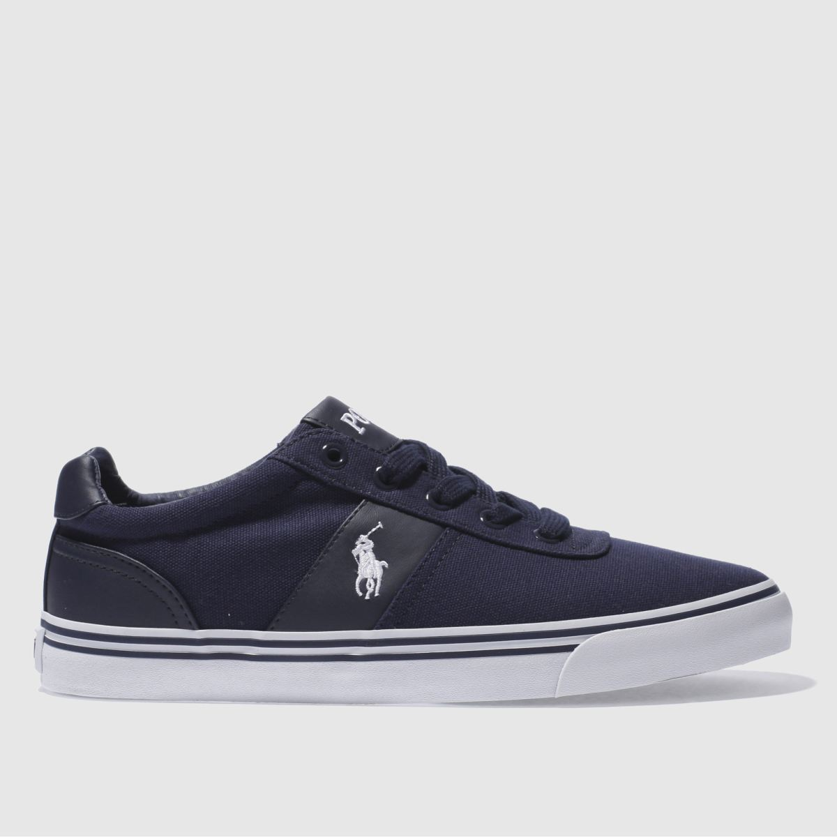 polo ralph lauren navy hanford 2 shoes
