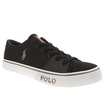 Polo Ralph Lauren Black Cantor Low 2 Shoes