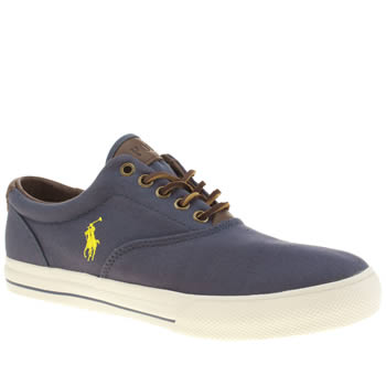 Polo Ralph Lauren Navy Vaughn 2 Shoes