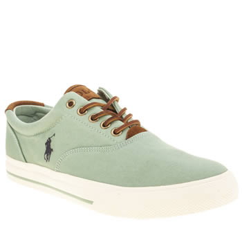 Polo Ralph Lauren Light Green Vaughn Shoes