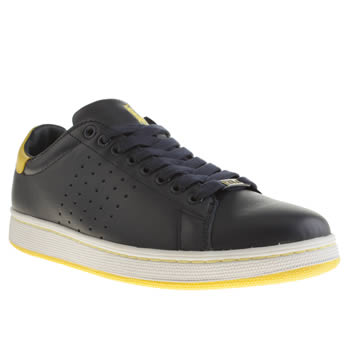 Mens Polo Ralph Lauren Navy Wilton Trainers