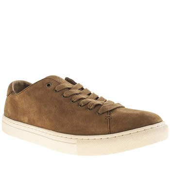 Mens Polo Ralph Lauren Tan Jermain Trainers