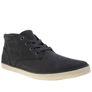 Mens Polo Ralph Lauren Navy Odie Trainers