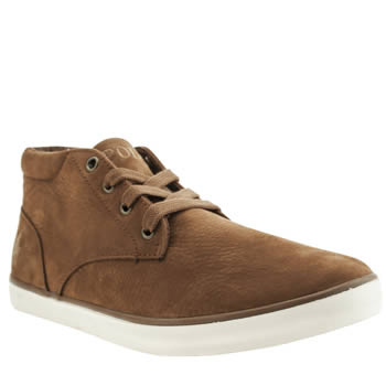 Mens Polo Ralph Lauren Tan Odie Trainers