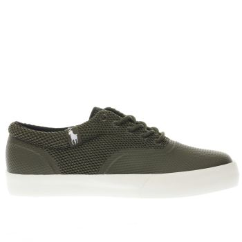 Polo Ralph Lauren Green Vernon Mens Trainers