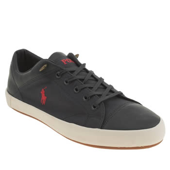 Mens Polo Ralph Lauren Navy Jerom Shoes