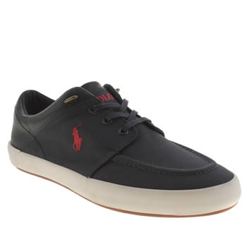 Mens Polo Ralph Lauren Navy Jarred Shoes