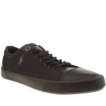 Polo Ralph Lauren Black Klinger Shoes