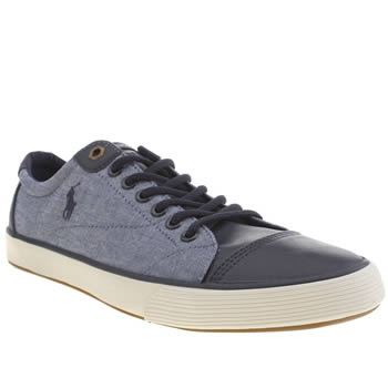 Mens Polo Ralph Lauren Navy Klinger Shoes