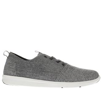 Toms Grey Del Rey Mens Trainers