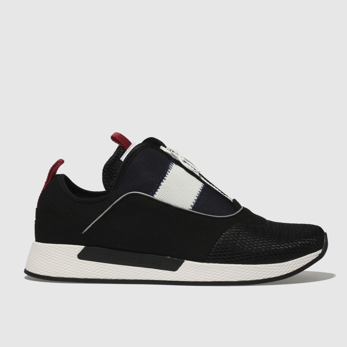 Tommy Hilfiger Tommy Hilfiger Black & White Tj Icon Sport Flexi Sneaker Trainers