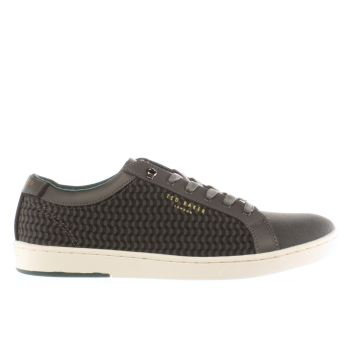 Ted Baker Grey Kerran 3 Mens Trainers