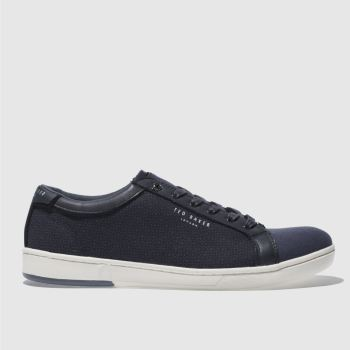 Ted Baker Navy Ternur Mens Trainers