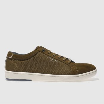 Ted Baker Brown Marrtun Mens Trainers