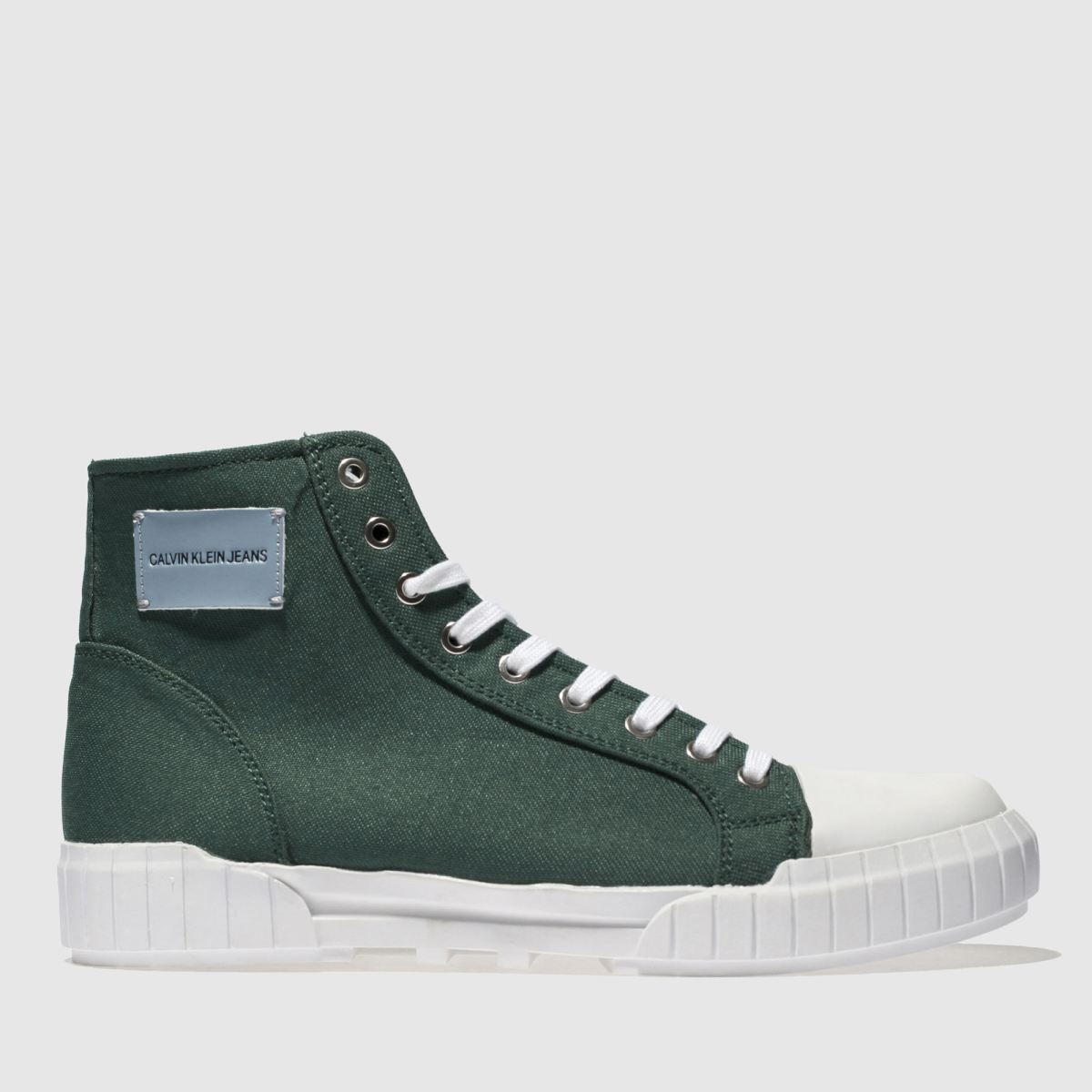 Calvin Klein Dark Green Jeans Biagio Trainers
