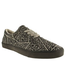 Black & Grey Bucketfeet Upendo Lace