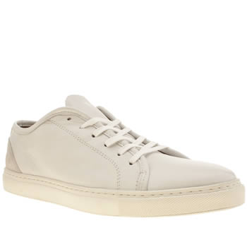 Mens Momentum White Melbourne Lo Cup Trainers
