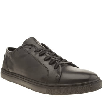 Mens Momentum Black Melbourne Lo Cup Trainers