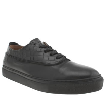 Mens Momentum Black Melbourne Ox Shoes