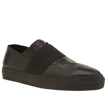 Momentum Black Melbourne Slip Mens Shoes