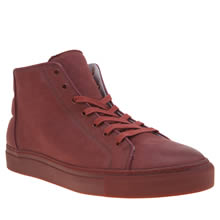 Momentum Red Melbourne Lace Hi Mens Boots