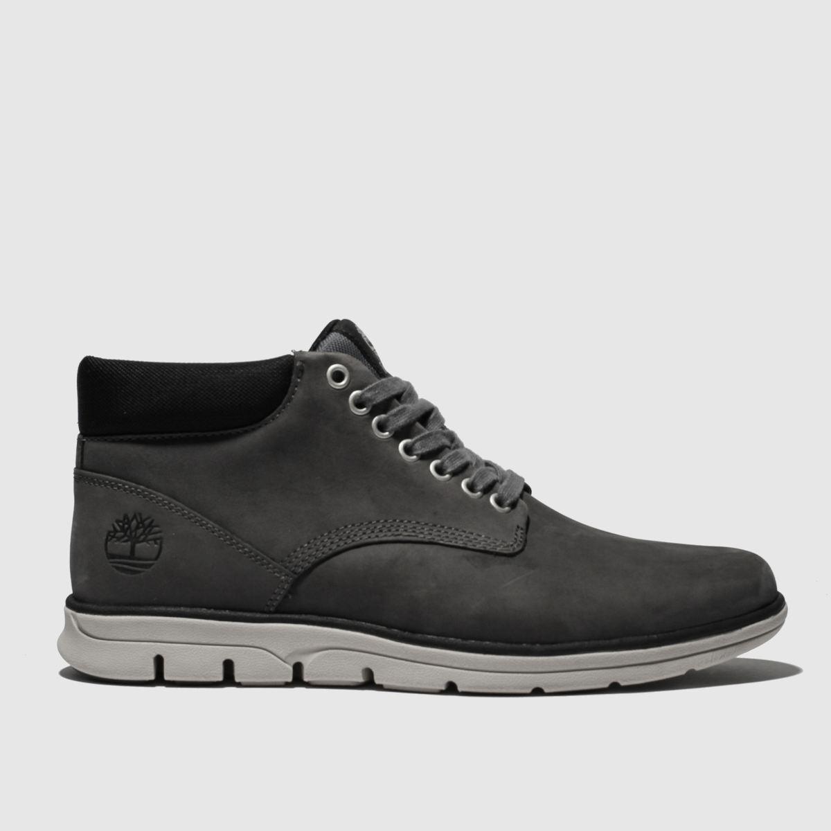 Timberland Grey & Black Bradstreet Chukka Boots