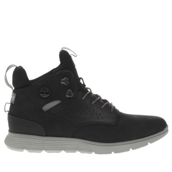 TIMBERLAND BLACK KILLINGTON HIKING CHUKKA BOOTS