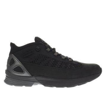 TIMBERLAND BLACK KENETIC TRAINERS