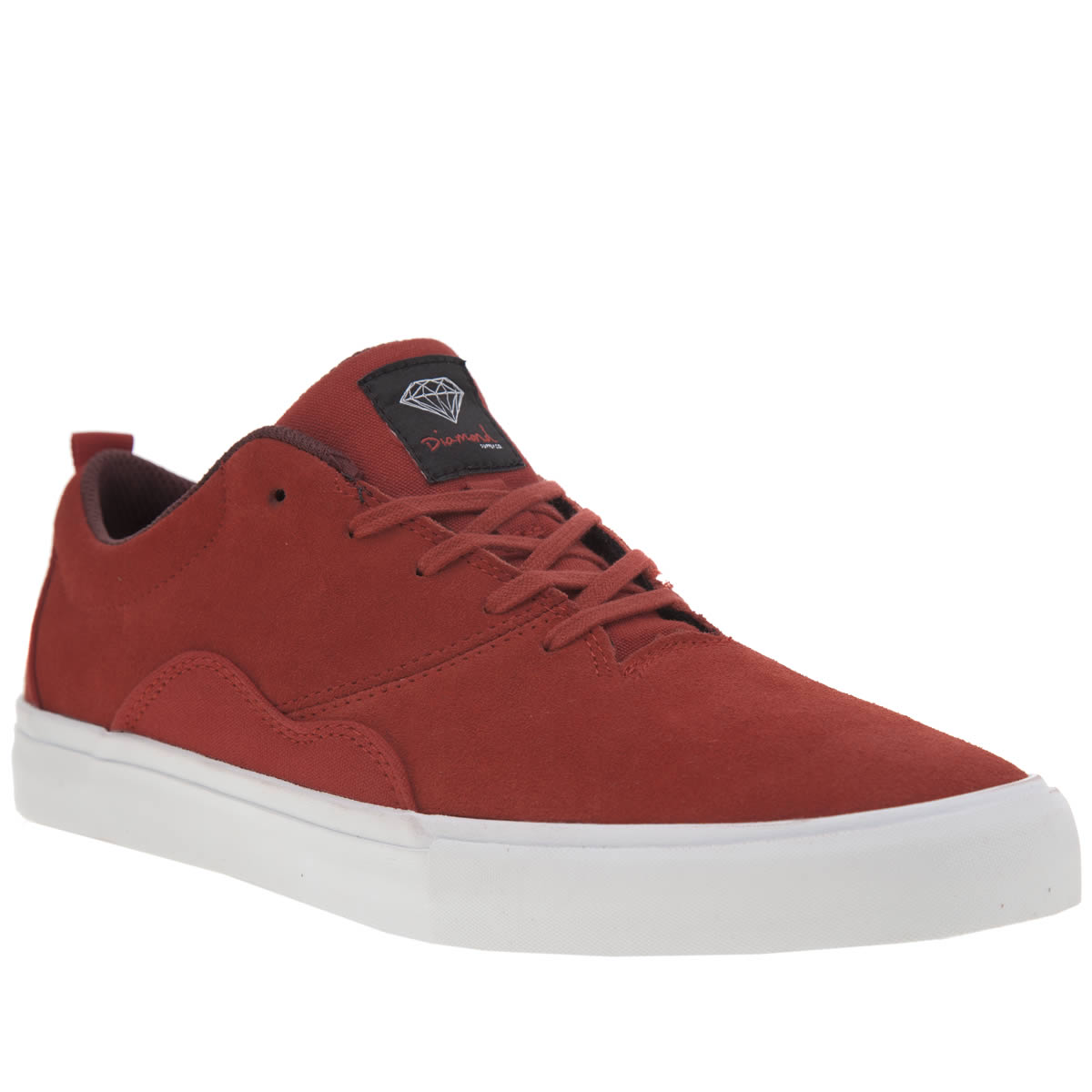 Diamond Supply Co Diamond Supply Co Red Lafayette Trainers
