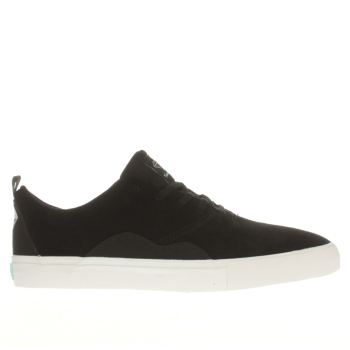 Diamond Supply Co Black & White Lafayette Trainers