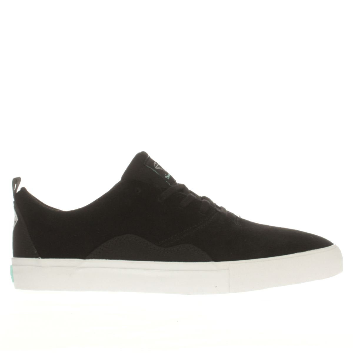 Diamond Supply Co Diamond Supply Co Black & White Lafayette Trainers