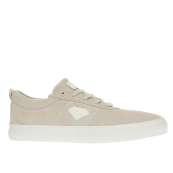 Diamond Supply Co White Icon Trainers