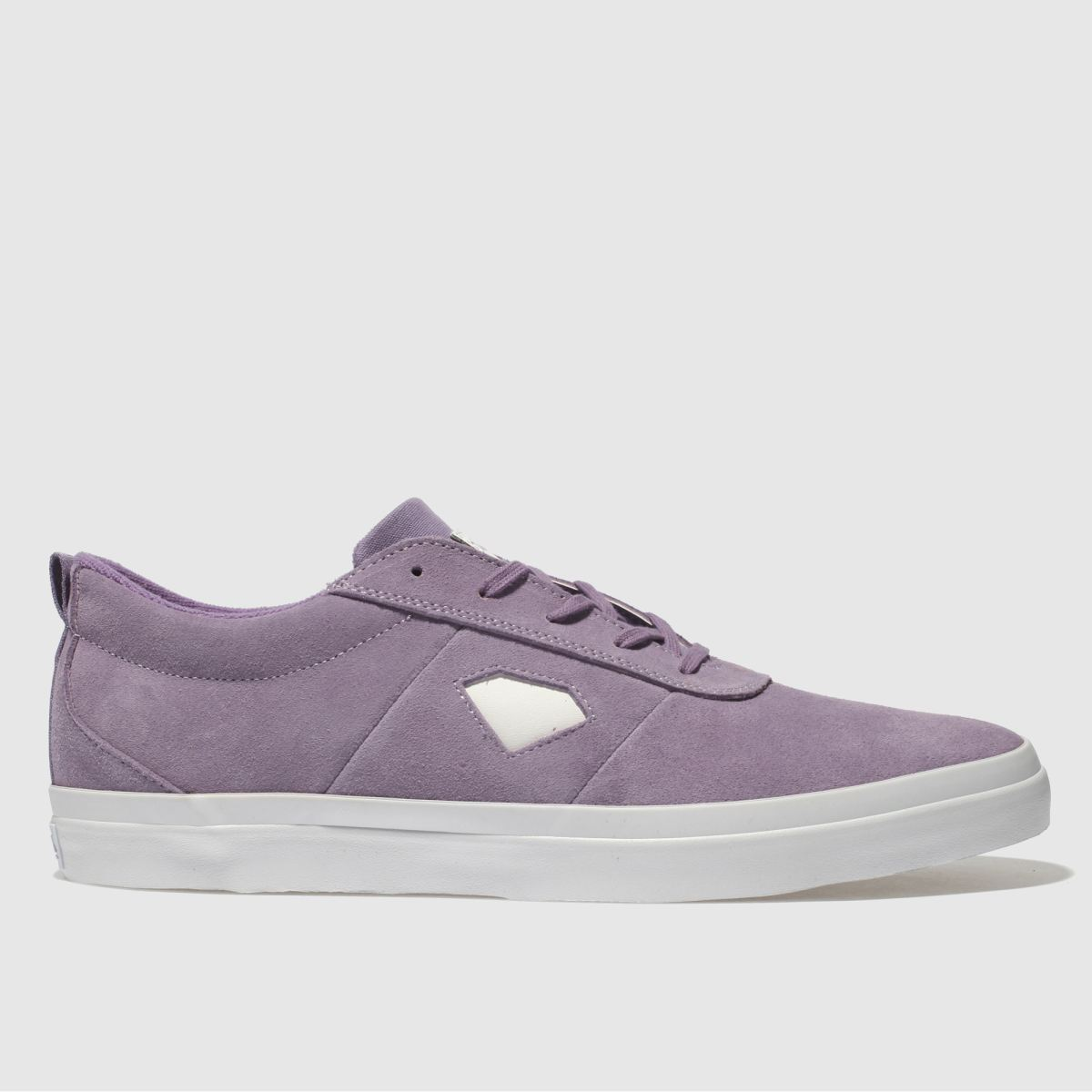 Diamond Supply Co Diamond Supply Co Purple Icon Trainers