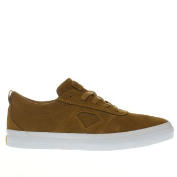 Diamond Supply Co Tan Icon Trainers