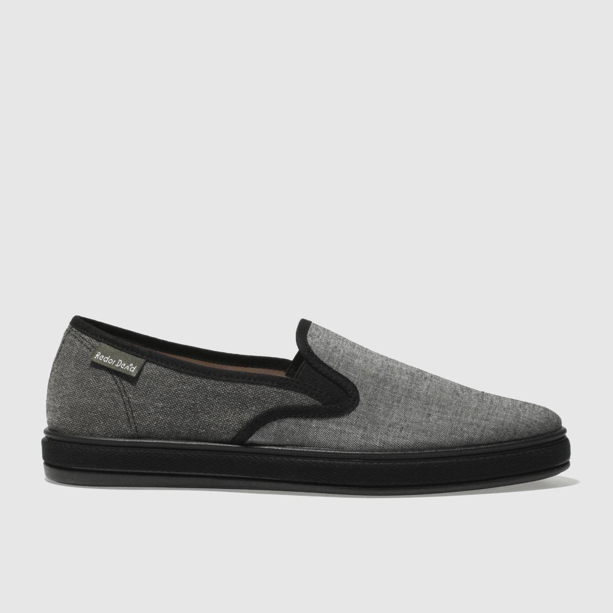 Red Or Dead Black Mr Cruz Slip Shoes