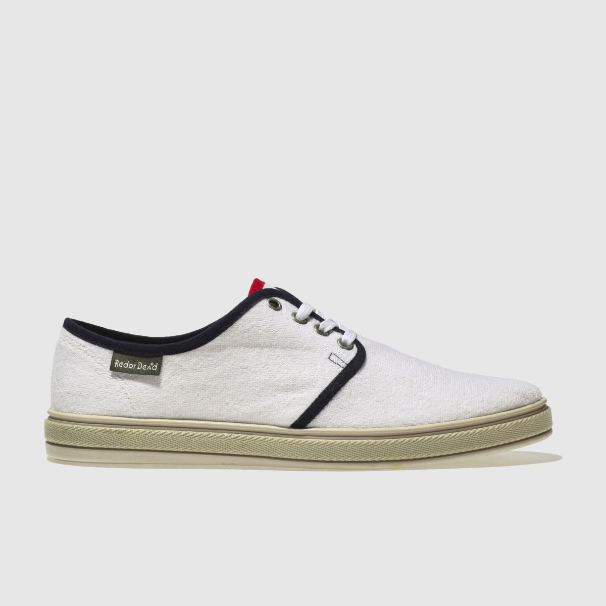Red Or Dead White Mr Cruz Ii Shoes