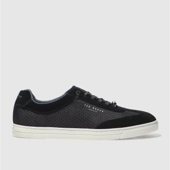 Ted Baker Black Phranco Mens Trainers