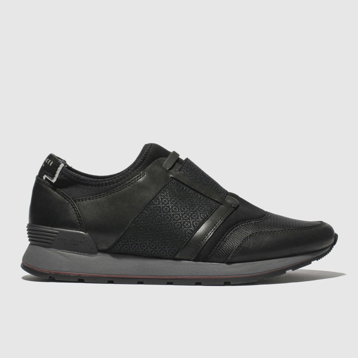 Ted Baker Black Jettro Trainers