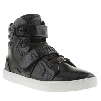 mens android homme navy & black ah propulsion hi trainers